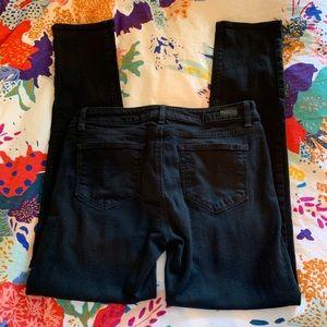 Paige Skyline Skinny Black Jeans